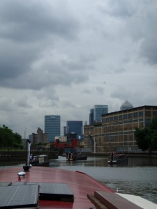 Bow creek, heading to the Thames